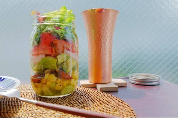 Home Cooking Recipe: Glass bottle salad