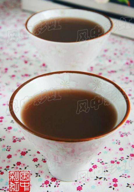 Home Cooking Recipe: Glutinous rice red bean soup