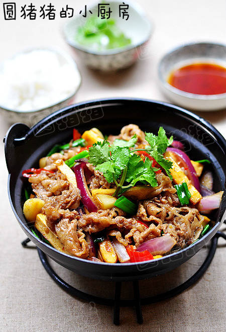 Home Cooking Recipe: Good fragrance, good meal - beef and dried bean curd