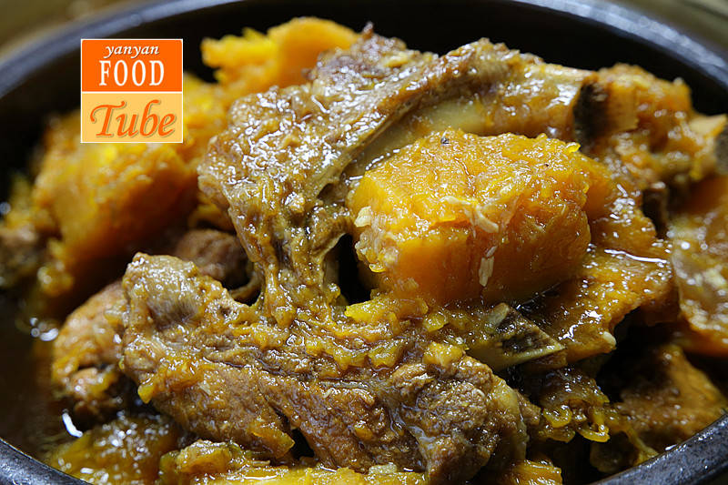Home Cooking Recipe: Gourd ribs Pumpkin Stew with Ribs