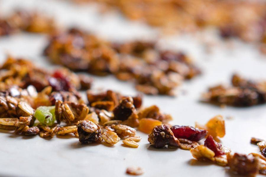 Home Cooking Recipe: Granola full of granola