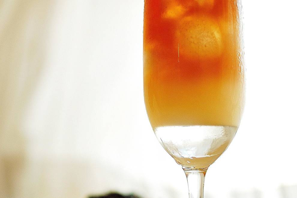 Home Cooking Recipe: Grapefruit juice black tea