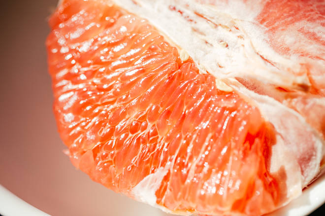 Home Cooking Recipe: Grapefruit peeled