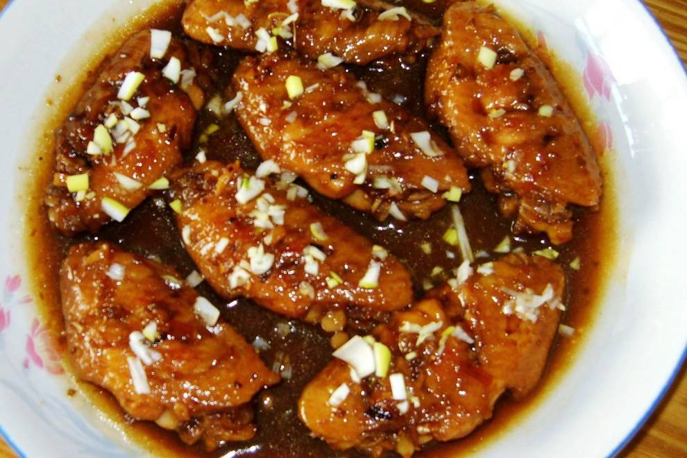 Home Cooking Recipe: Honey sauce, chicken wings