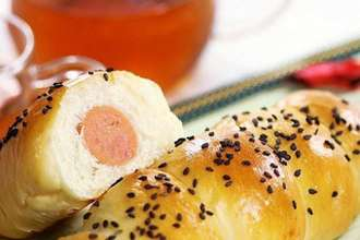 Hot dog bread roll