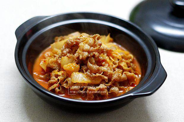 Home Cooking Recipe: Kimchi beef