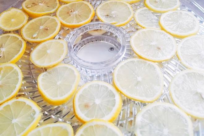 Home Cooking Recipe: Lemon washed, sliced, tiled