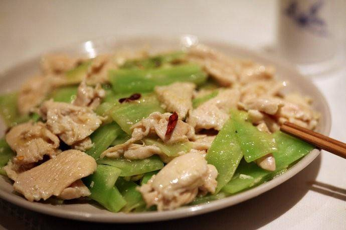 Home Cooking Recipe: Lettuce slippery chicken