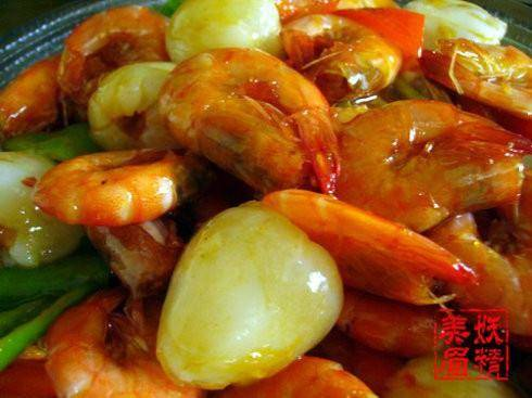 Home Cooking Recipe: Litchi shrimp