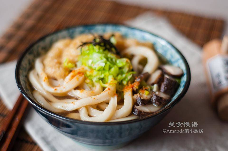 Home Cooking Recipe: [Man food slow language] hand playing Udon