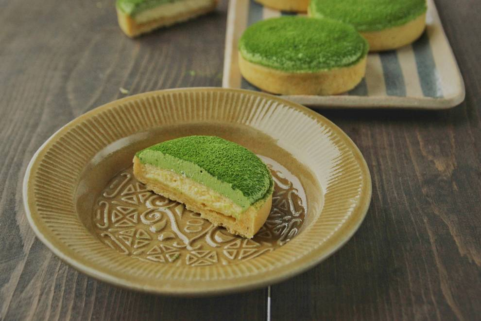 Home Cooking Recipe: Matcha Cheese Tower