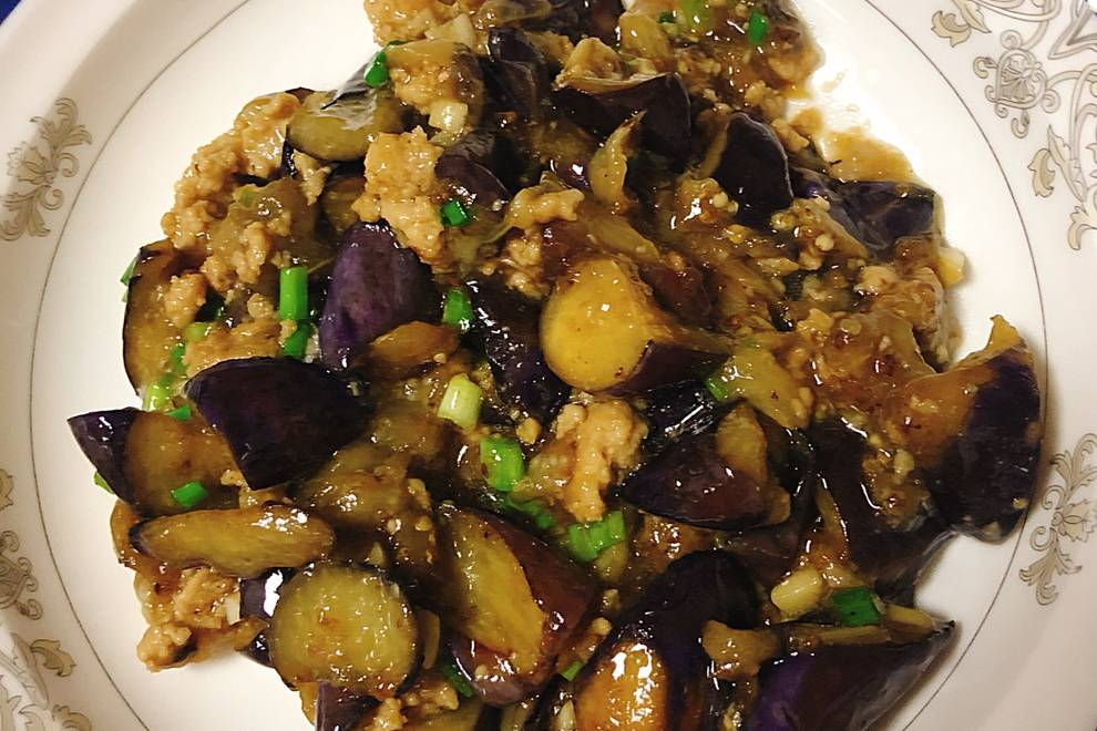 Home Cooking Recipe: Minced eggplant