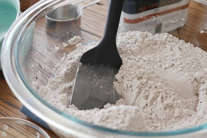 Home Cooking Recipe: Mixing powder materials