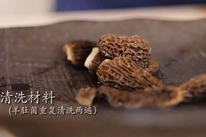 Home Cooking Recipe: Morel cleaning twice