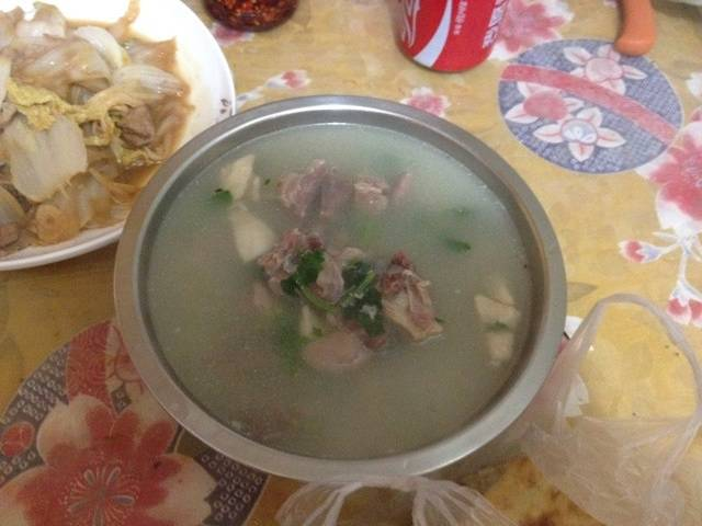 Home Cooking Recipe: mutton soup