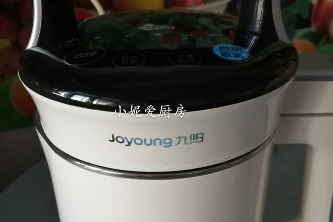 Home Cooking Recipe: My soymilk machine is a 9 Yang Soymilk