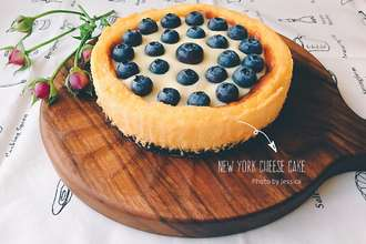 New York Cheesecake (with homemade sour cream)