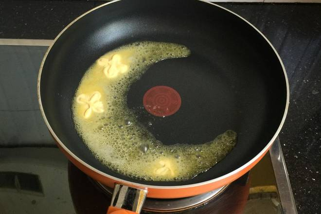 Home Cooking Recipe: Non-stick heating, butter melting