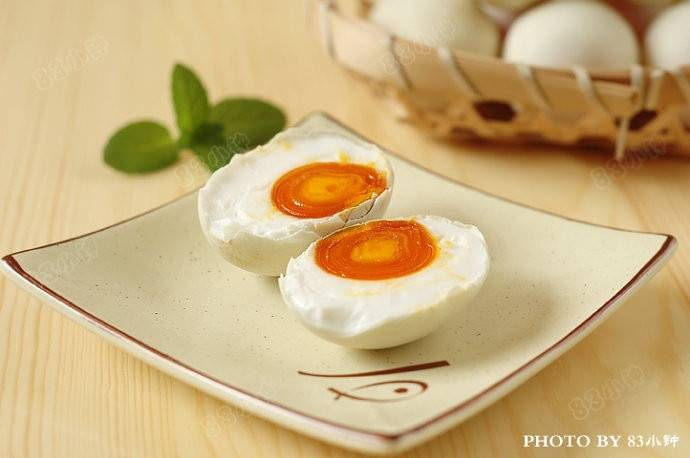 Home Cooking Recipe: Oily salted duck egg