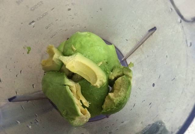Home Cooking Recipe: One avocado, go nuclear, cut into small pieces