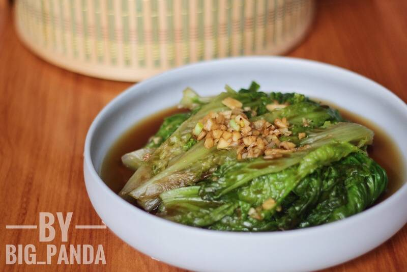 Home Cooking Recipe: Oyster sauce lettuce (green and swaying tips)