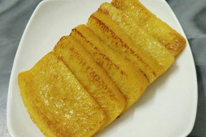Home Cooking Recipe: Pan-fried gold cake~
