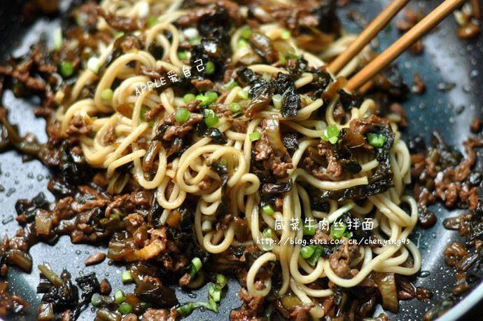Home Cooking Recipe: Pickled beef noodles