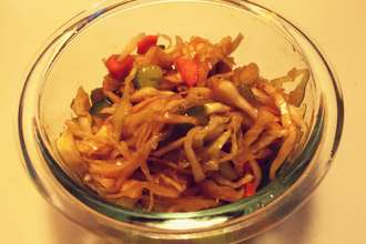 Home Cooking Recipe: Pickled cabbage #早餐小菜系列#