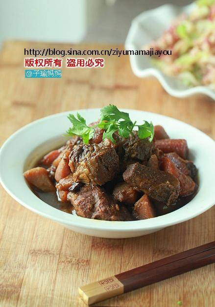 Home Cooking Recipe: Potato stewed beef