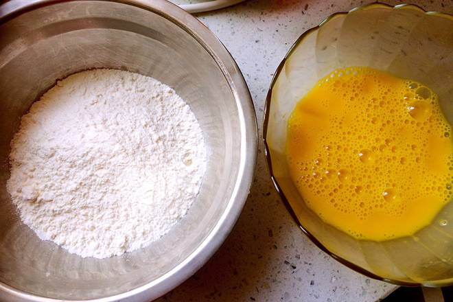 Home Cooking Recipe: Preparing flour