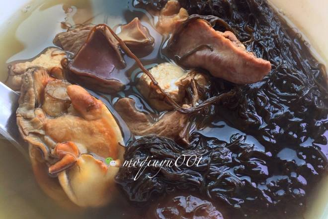 Home Cooking Recipe: Purple sand 煲煲 1.5 hours, add the right amount of salt to taste
