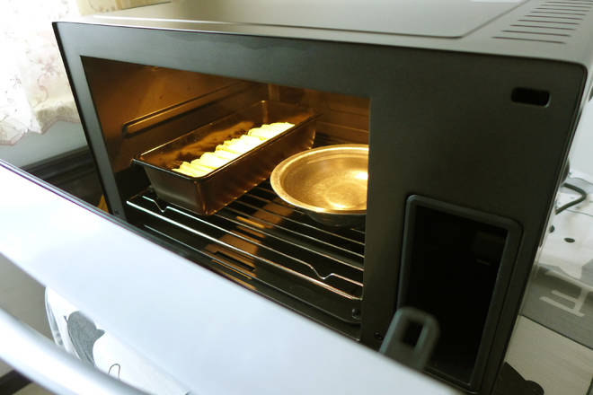 Home Cooking Recipe: Put in the steaming oven, select the fermentation function, and carry out the final fermentation;