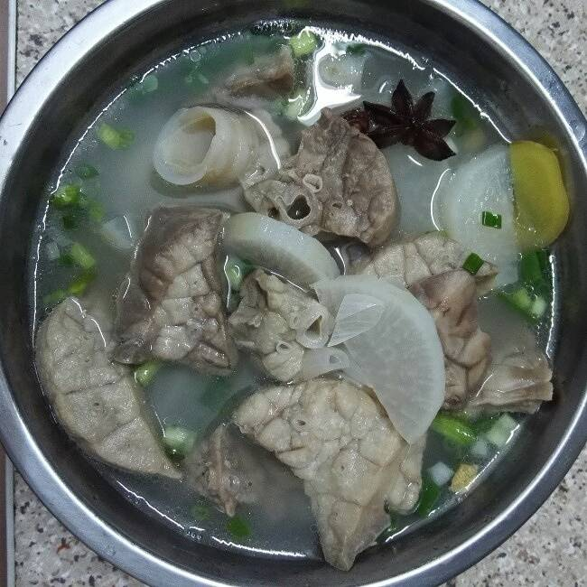 Home Cooking Recipe: Radish pig lung soup