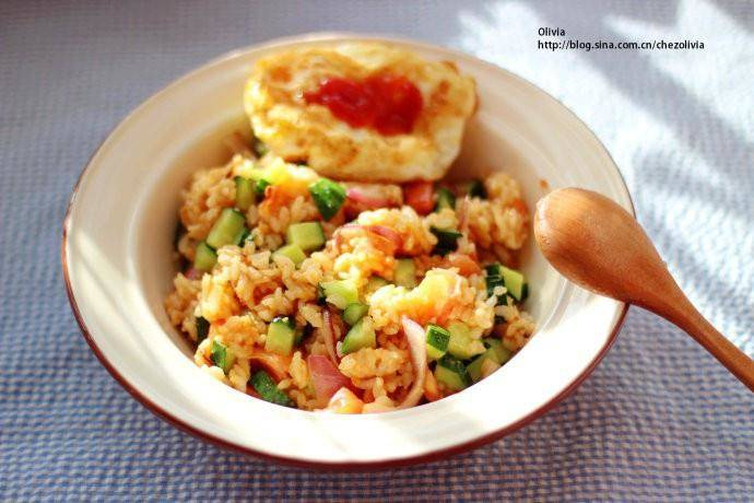 Home Cooking Recipe: Refreshing Indonesian fried rice
