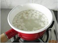 Home Cooking Recipe: Rice cakes boiled in boiling water