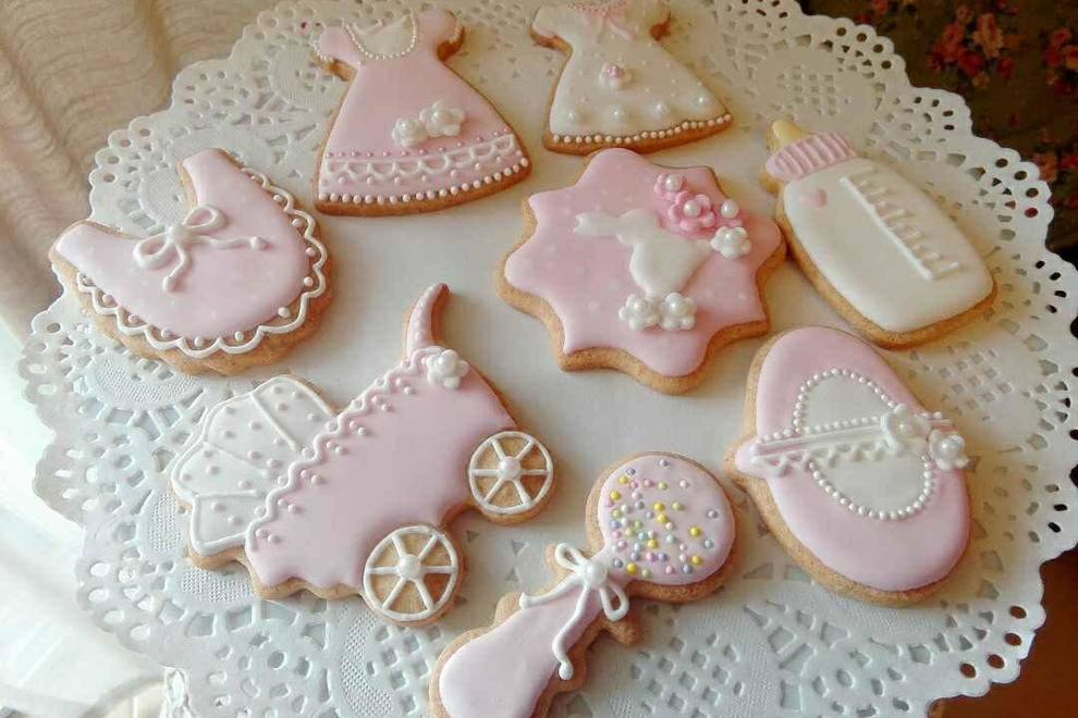 Home Cooking Recipe: Royal Icing Royal Sugar Cookies Baby Full Moon Gifts