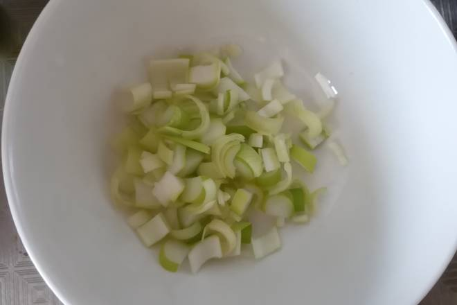 Home Cooking Recipe: Scallion diced