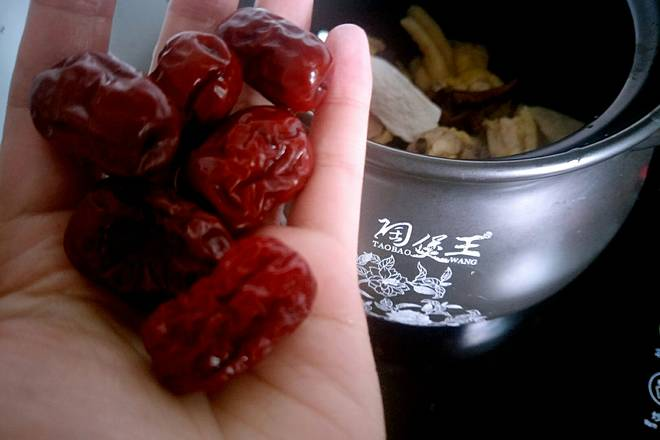 Home Cooking Recipe: Several red dates