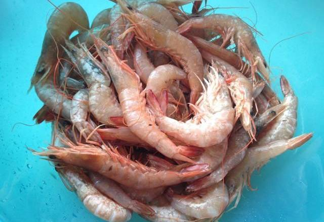 Home Cooking Recipe: Shrimp washing and water control