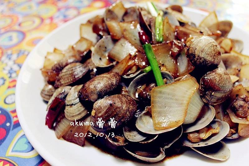 Home Cooking Recipe: Signature black pepper fried flower 蛤