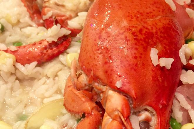 Home Cooking Recipe: Soup made from lobster head and feet can be used for making rice or cooking Italian rice.