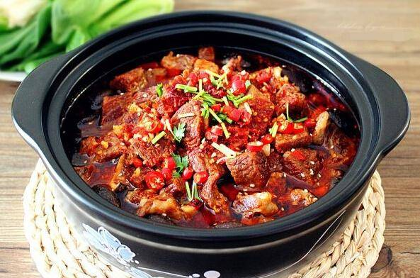 Home Cooking Recipe: Spicy beef hot pot