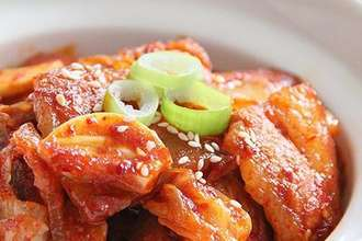 Home Cooking Recipe: Spicy cabbage fried pork belly