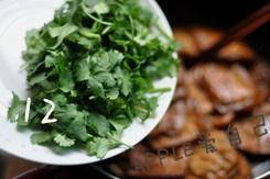 Home Cooking Recipe: Sprinkle with parsley before the pan