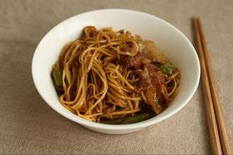 Home Cooking Recipe: Steamed noodles (green bean noodles)