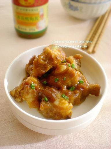 Home Cooking Recipe: Steamed pork ribs with plum sauce
