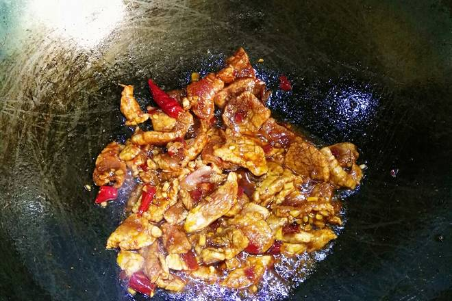 Home Cooking Recipe: Stir-fry the scent.