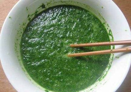 Home Cooking Recipe: Stir the juice with chopsticks.