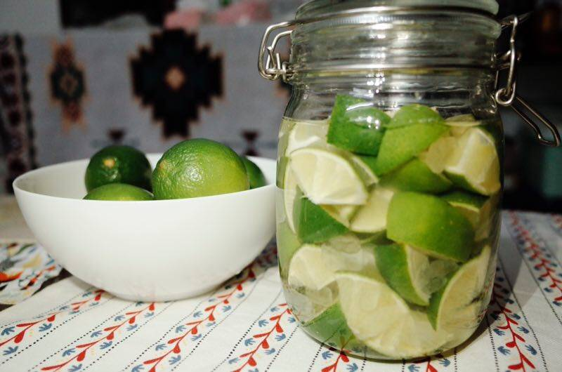 Home Cooking Recipe: Summer [Homemade Lime Wine]
