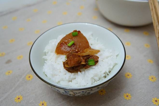 Home Cooking Recipe: Super rice, sour radish is better than meat, and ginger is eaten by me.